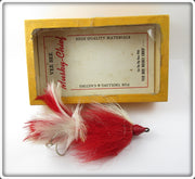 Vee-Bee Red & White Musky Chief In Box