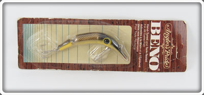 Vintage Angler's Pride Gold Scale Jointed Beno Lure On Card