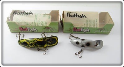Helin Frog X4 7 Silver F7 Flatfish Pair In Boxes