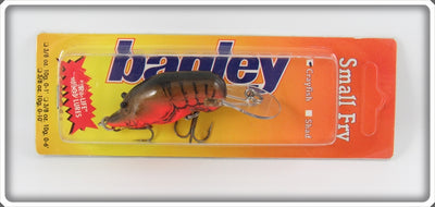 Bagley Small Fry Crayfish Lure On Card