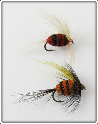 Marathon Red & Orange Trout Houn Pair