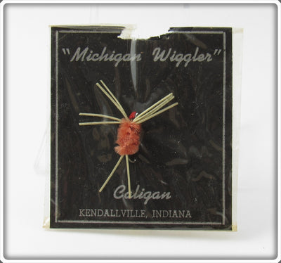 Caligan Michigan Wiggler Fly On Card