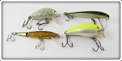 Japan Rapala Type Lot Of Four