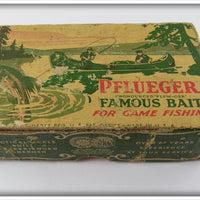 Pflueger Empty Box For Red & White Globe