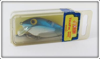 Storm Metallic Silver Blue Back Thinfin Silver Shad In Box
