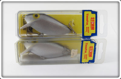 Storm Silver Scale Thinfin Silver Shad Pair In Boxes