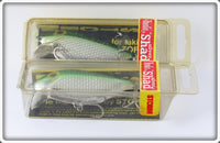 Storm Metallic Green Thinfin Silver Shad Pair In Boxes