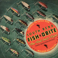1936 South Bend Fish Obite Ad