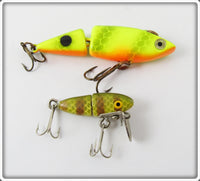 Jointed Lure Pair: Rocky Jr & Cordell Chatruese Jointed Spot