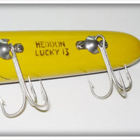 Heddon Bullfrog Lucky 13 In Correct Box