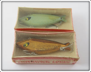Smithwick Water Gater Pair In Boxes: Gold Chrome & Blue Scale