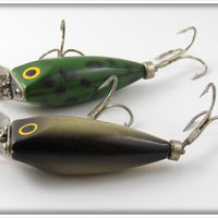 Wood's Frog & Shad Dipsy Doodle Pair
