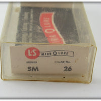 L&S Red Back Silver Scale Spin MirroLure In Box
