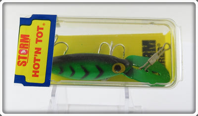 Storm H91 Fluorescent Green Black Herringbone Hot N Tot Sealed In Box