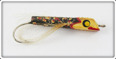 Folk Art Winged Lure With Glitter