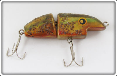 Folk Art Smiling Jointed Minnow