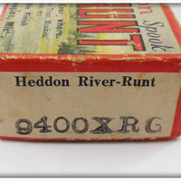 Heddon Empty Box For Green Shore River Runt