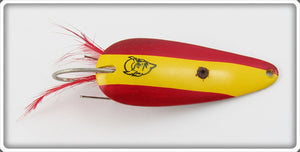 Eppinger Red & Yellow Weedless Dardevle Imp