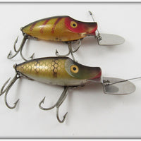 Heddon Perch & Pike Scale Go Deeper Midget River Runt Pair