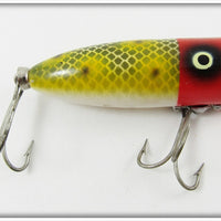 Heddon Red Head Frog Scale Baby Lucky 13