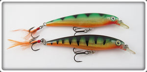Rapala Green Perch X-Rap Pair