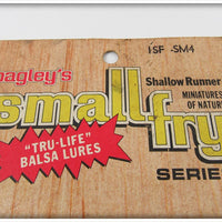 Bagley Tru Life Shallow Runner Small Fry Sealed On Card ISF SM4