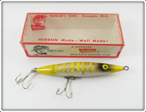 Heddon Yellow Dying Quiver In Correct Box