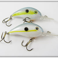 Strike King Chartreuse Sexy Shad Crankbait Lure