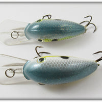 Strike King Chartreuse Sexy Shad Crankbait Pair