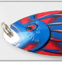 "Williams 90 Blue & Red 6"" Whitefish"