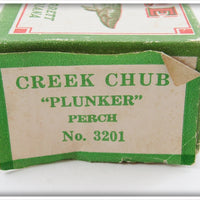 Creek Chub Perch Plunker In Correct Box 3201