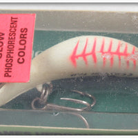 Heddon Glo Rib Alewife Tiny Clatter Tad Sealed In Correct Box