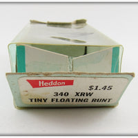 Heddon Red & White Shore Tiny Floating Runt In Correct Box