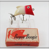 Red & White Bayou Boogie With Correct Box Lid