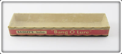 Vintage Bagley Empty Box For Bang O Lure 425 S