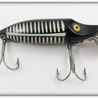 Heddon Black Shore River Runt Spook Floater In Correct Box 9400 XBW