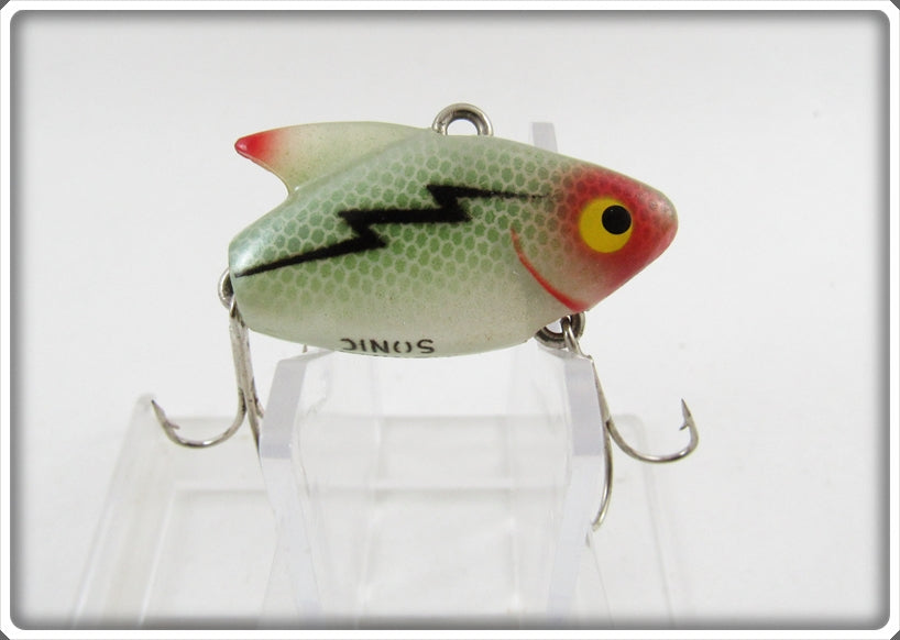 Heddon Transparent Green Scale Sonic