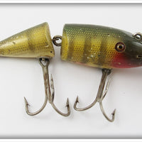 Vintage Creek Chub Perch Wigglefish Lure