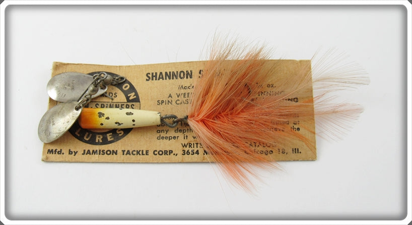 Vintage Jamison Spin Twin Twin Spinner Lure On Card