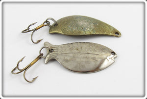 Unknown Metal Fish Shaped Lure Pair