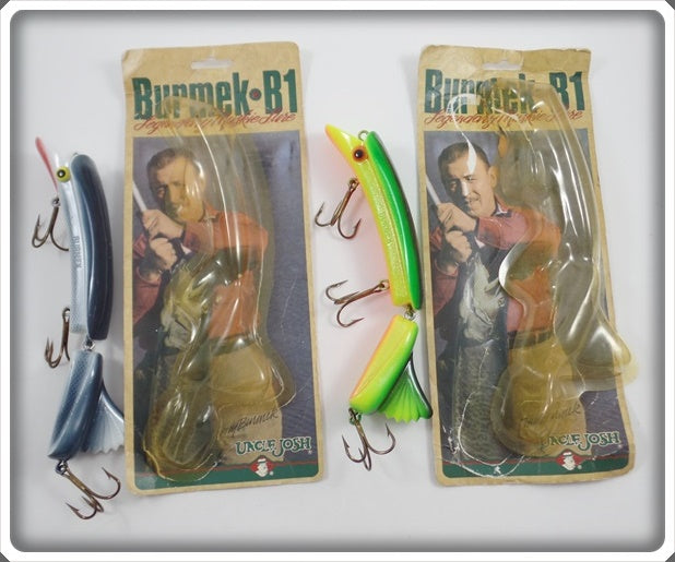 Burmek B1 Lure Pair With Cards