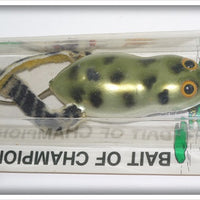 Arbogast Fred's Frog On Card