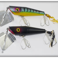 Arbogast Pair Of Sputterbuzz: Solid Black And Perch