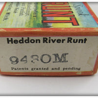 Heddon Pike Scale Jointed River Runt Empty Box
