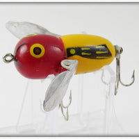 Heddon Yellow Red Head Tiny Crazy Crawler