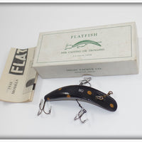Helin M2 Black With Orange Spots Flatfish In Correct Box