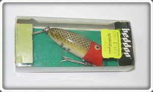 Heddon Red Head Frog Scale Baby Lucky 13 In Correct Box 2400 JRH