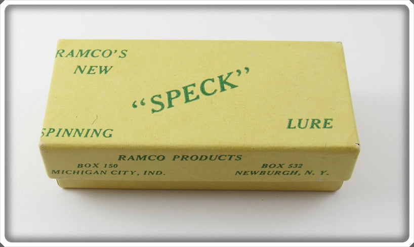 Vintage Ramco Products Speck Lure Empty Box