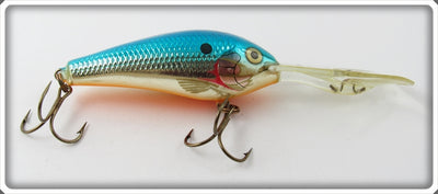 Vintage Rapala Blue Chrome Down Deep Lure