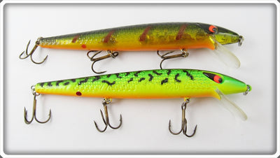 Smithwick Perch & Fire Tiger Super Rogue Lure Pair
